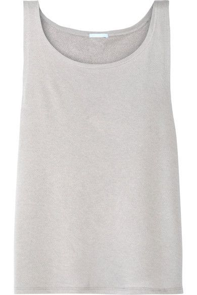 Eberjey - Walker French Terry Pajama Top - Stone -