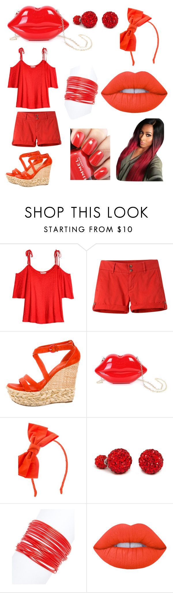 """15"" by cristina-vanau on Polyvore featuring Mountain Khakis, Casadei, WithChic, Johnny Loves Rosie, ZENZii, Lime Crime and Rimmel"