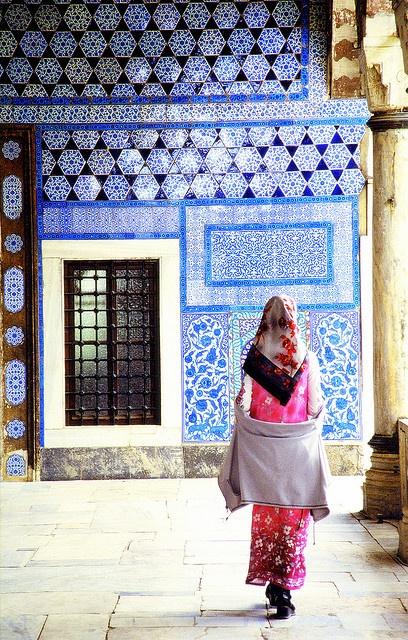 Mujer en Turquia