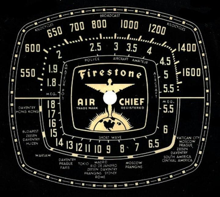 Vintage Radio Dial 113