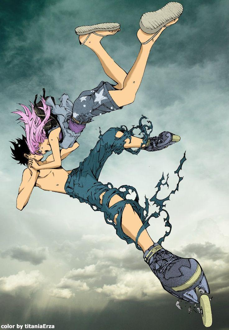Ikki and Kururu Air Gear by titaniaerza