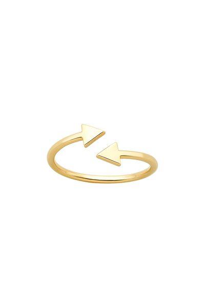 Celestial Arrows Ring Gold - Karen Walker Jewellery | Karen Walker