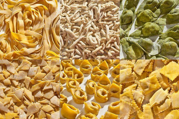 Tavolozza di pasta fresca