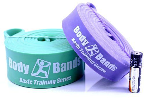 Body-Bands Pull Up Band Set #2 (Set of 2 Bands) - http://www.exercisejoy.com/body-bands-pull-up-band-set-2-set-of-2-bands/fitness/