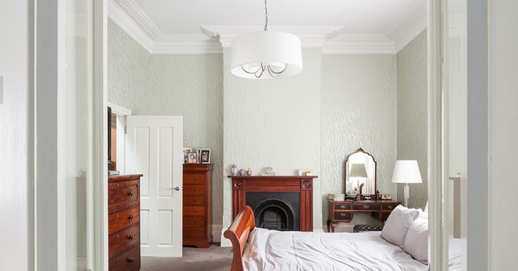 Master Bedroom - Federation period home, Annandale, Sydney