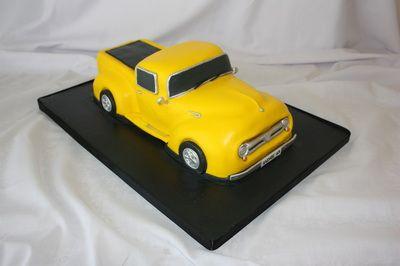 Ford F100 cake - www.suikerbekkie.co.za