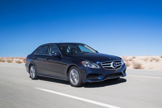 2014 Motor Trend Car of the Year Contender: Mercedes-Benz E-Class - Motor Trend WOT