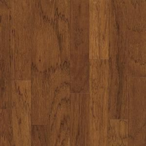 Bruce Falcon Brown In Thick X 3 Wide Random Length Engineered Click Lock Hardwood Flooring Sq