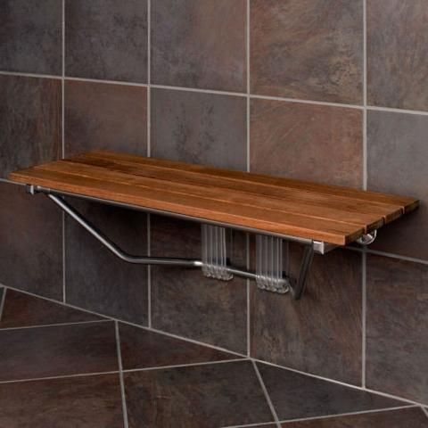 "MPN: CRS501103 Crosslinks is excited to offer our new 36"" Burmese Teak wood two person folding shower bench. Add convenience and bring the comfort of a spa to your shower with the Teak Wood Modern Fol                                                                                                                                                      More"