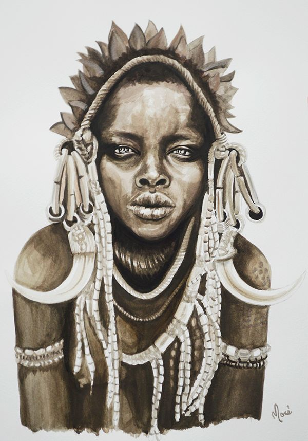 African Beauty on Behance