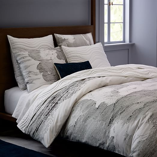 1000 ideas about west elm duvet on pinterest neutral. Black Bedroom Furniture Sets. Home Design Ideas