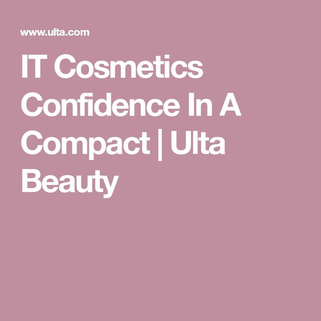 IT Cosmetics Confidence In A Compact   Ulta Beauty