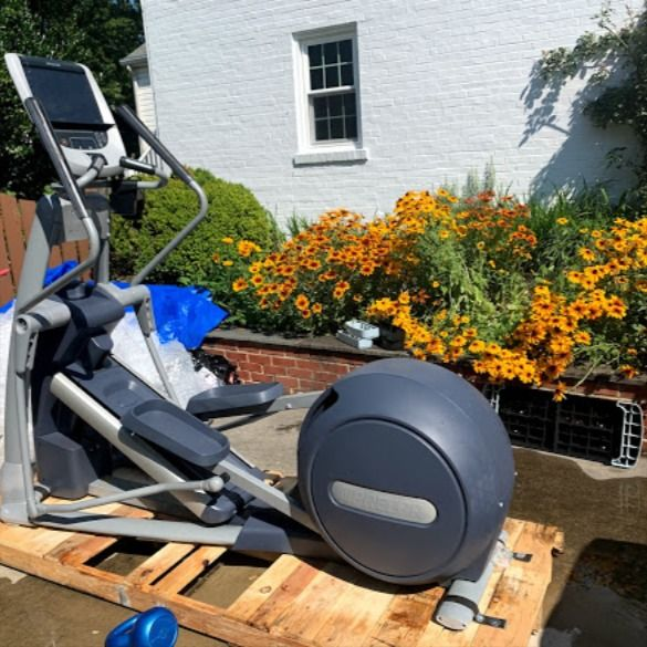 Elliptical Relocation Service In Silver Spring Md No Equipment Workout Fitness Equipment Service At Home Gym