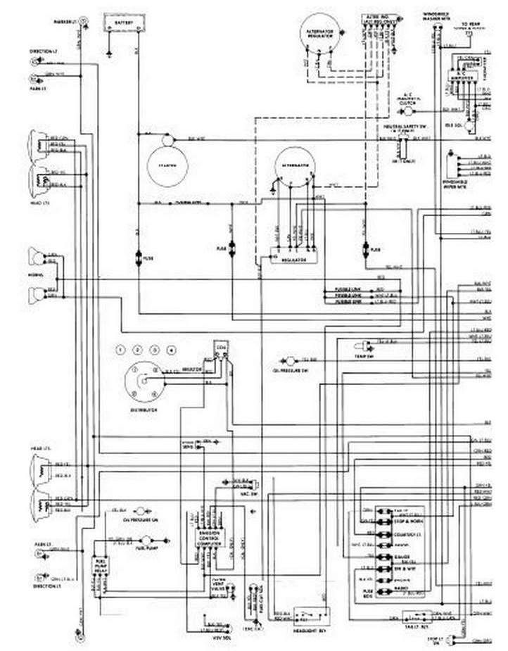 VW VOLTAGE REGULATOR WIRING DIAGRAM ~ Wiring Diagram