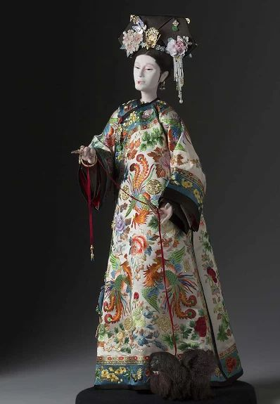 Cixi, Xiaoqin Xian (慈禧太后) - Emperor Chin of the Qing dynasty in 1861-1908 also known as Empress Dowager, Empress Orchid or Old Buddha.