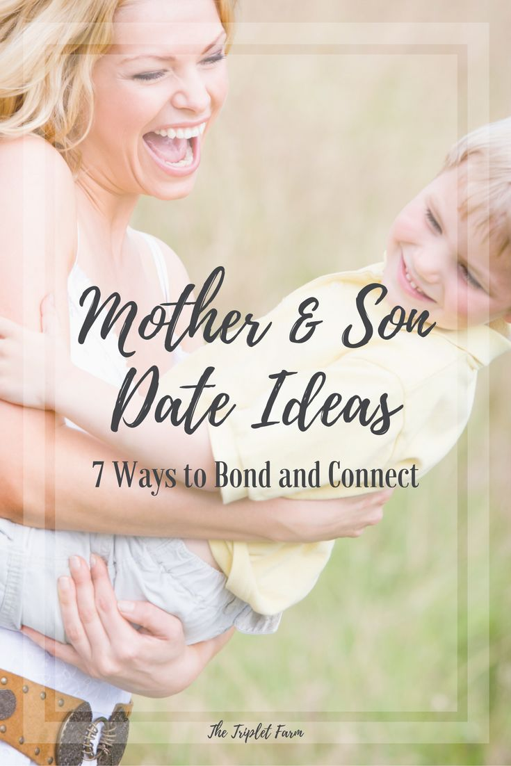 "Mother and Son Date Ideas | 7 Ways to Bond and Connect http://thetripletfarm.com/2017/03/27/mother-son-date-ideas/ Have I mentioned how much I love having a son? Okay, yes. Yes, I have. Gah! When I heard the words ""baby B is actually a boy"" my heart melted. For the longest time, I …"