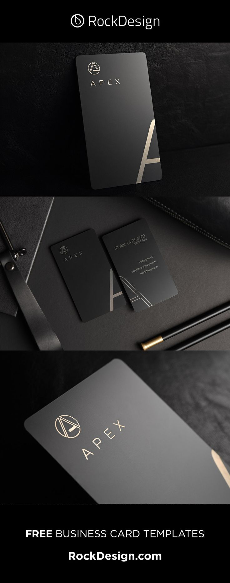 Our Apex Template Is The Peak Of Elegance This Card Is Printed Using Laser En Metal Business Cards Elegant Business Cards Design Business Card Design Creative