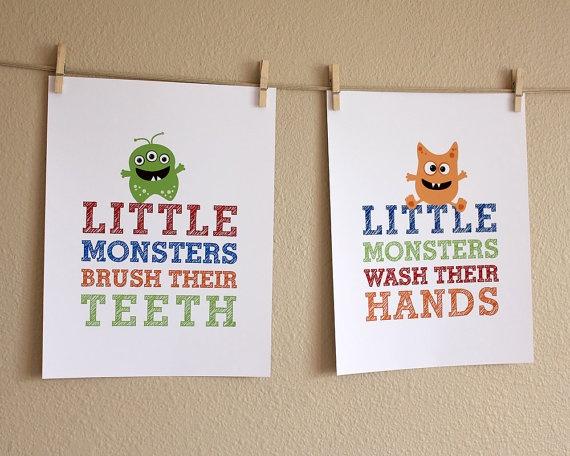 bathroom kids