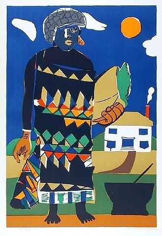 Pilate (Misty Island) by Romare Bearden from RoGallery.com