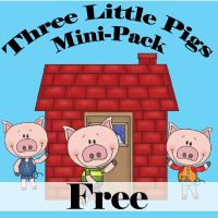 3 Little Pigs Mini Pack FREE!!!