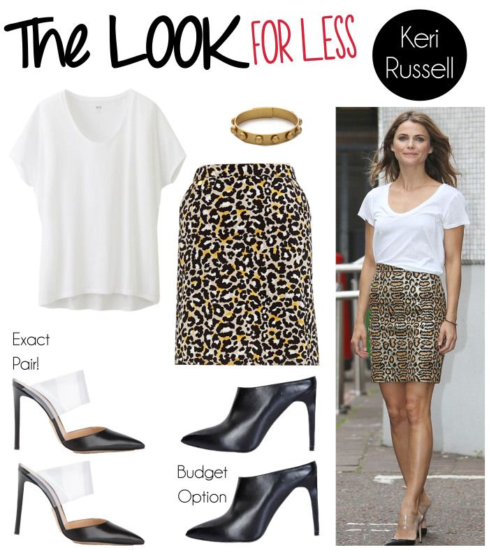 Look For Less: #kerirussell  #kerirussellstyle | www.fatfreefashion.com