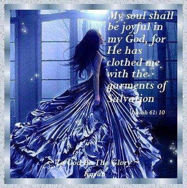 Isaiah 61:10                                                                                                                                                                                 More