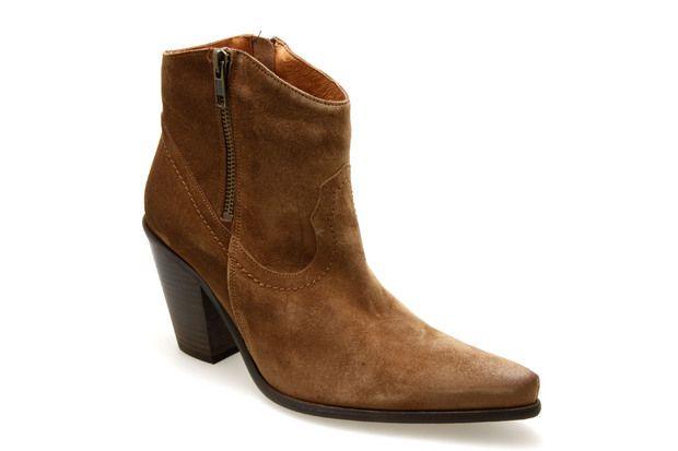 Bottines SAN MARINA ASTARTE Cognac - Chaussures femme