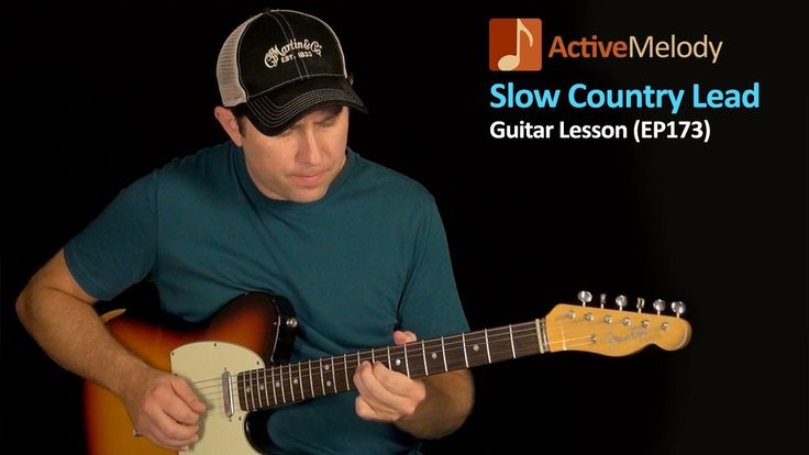 Slow and Easy Lead Country Guitar Lesson - Country Lead Guitar Lesson - ...
