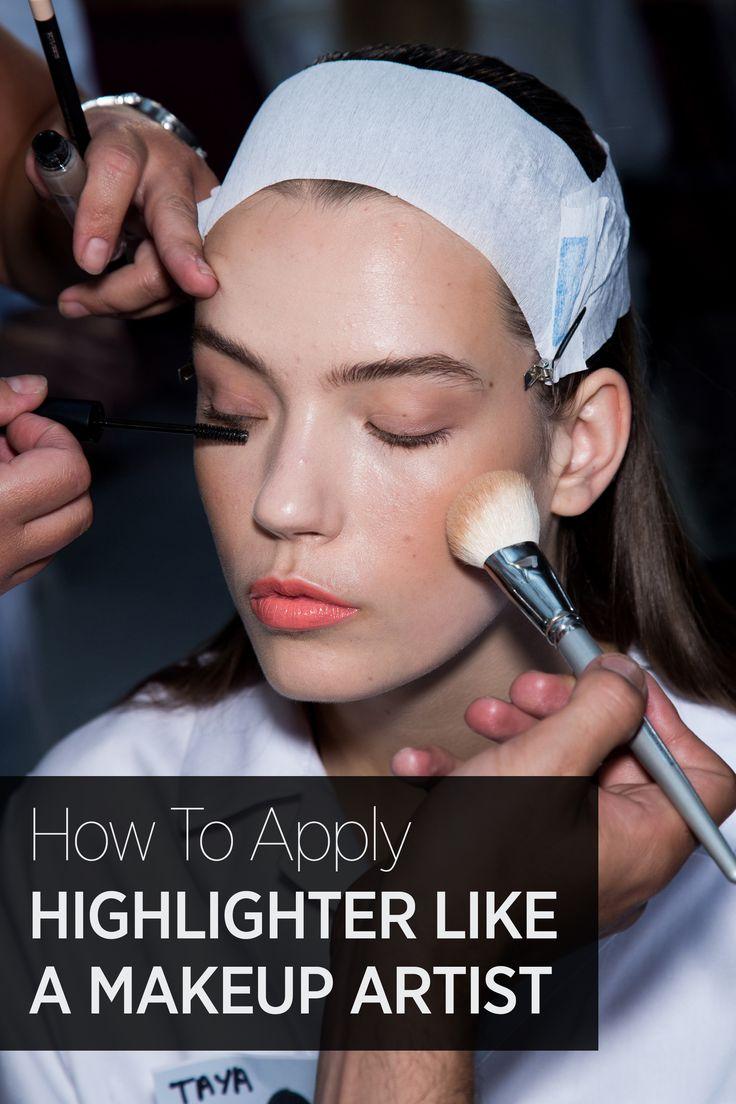 best ideas about best highlighter makeup beautyschool how to highlight like a makeup artist
