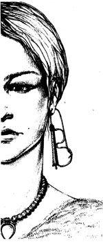 Disegno orecchino