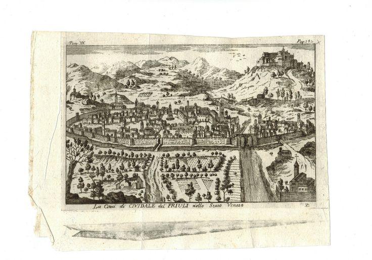 """SALMON , NAPOLI """"CIVIDALE DEL FRIULI"""" 1760 STAMPA ANTICA   eBay"""