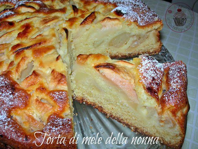 Nonna Rica : Torta di mele della nonna (la più soffice del mondo)