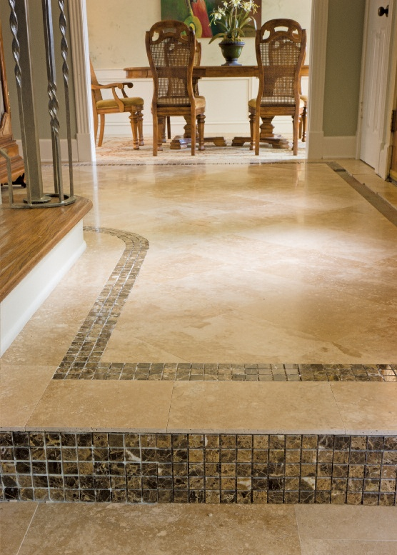 Foyer Tile Utah : Foyer tile ideas travertine floor only mosaic would be