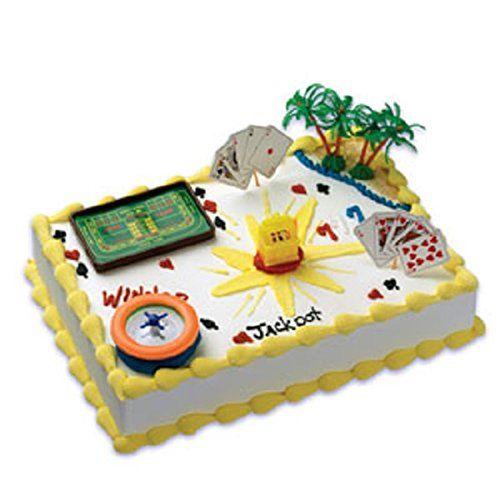 Casino Cake Decorating Kits