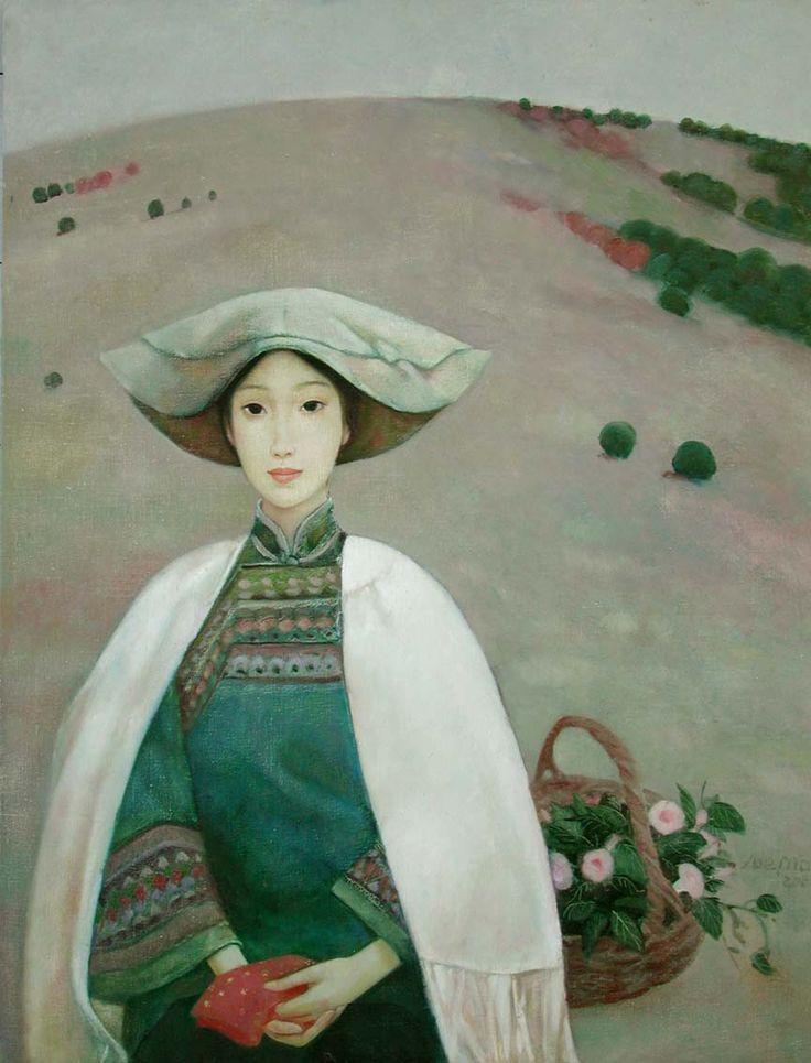 """Mongolian artist Xue Mo """"Wang-er"""""""