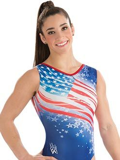 Aly Raisman Freedom Leotard from GK Elite