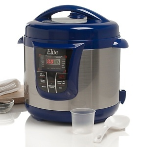 Quick someone tell John! I want, I want, I WANT!  WOW!   Elite 13-Function 8qt Electronic Pressure Cooker at HSN.com