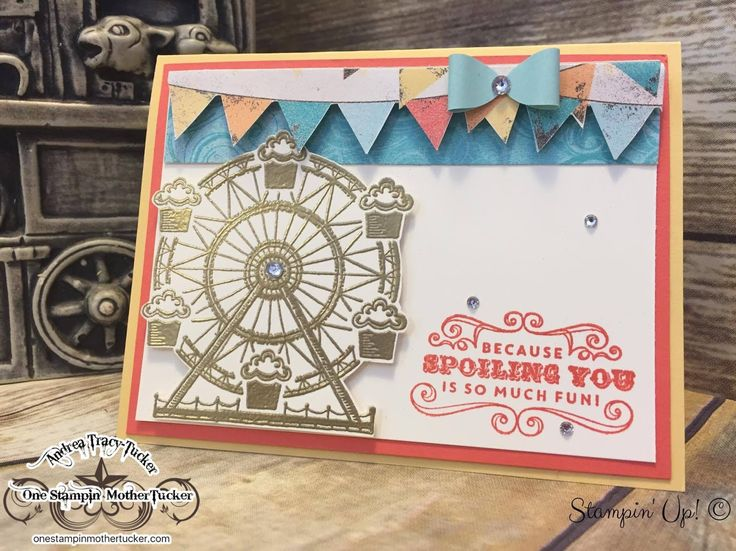 Andrea Tracy-Tucker Independant Stampin' Up! Demonstrator