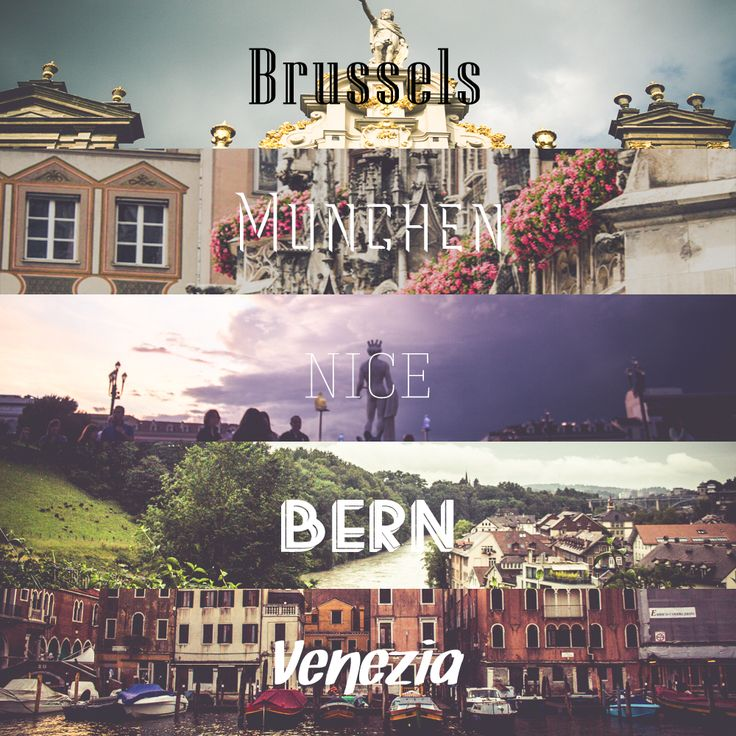 2014 Europe #city #brussels #munchen #nice #bern #venice #photography by #suhyeonkim