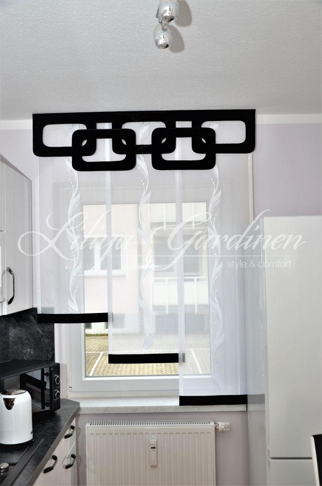 Moderne Küchengardinen bestellen | Individuelle Fensterdeko ...