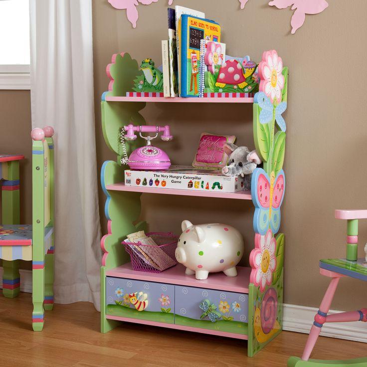 Have to have it. Fantasy Fields Magic Garden Bookcase - $126.7 @hayneedle