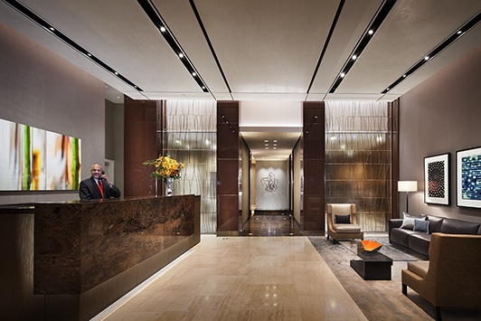 Related Companies One MiMA Tower Lobby New York New York Rentals Pinte