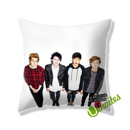 5 Second Of Summers 5sos Square Pillow Cover