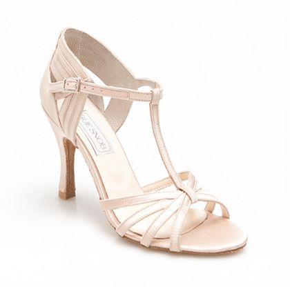 K Street Ivory Women's Latin Dance Shoes