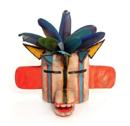 Kachina mask, Hopi, Arizona
