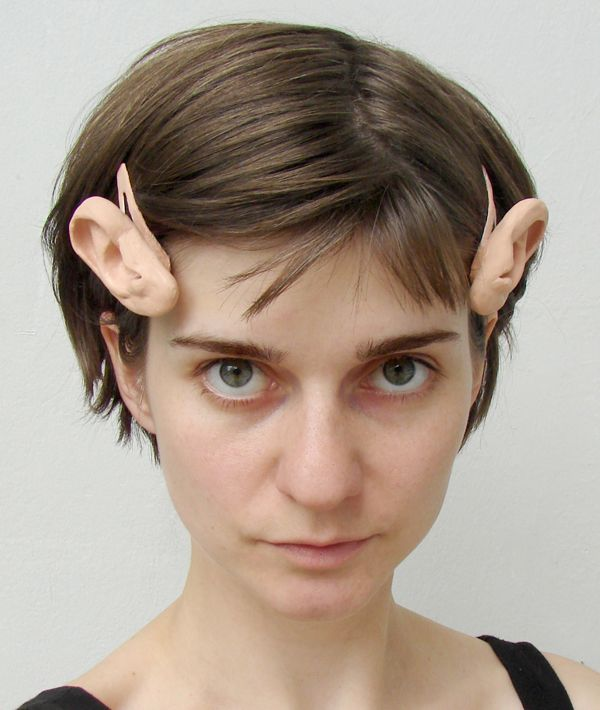 Wonderfully Unsettling Human Ear Bobby Pins @Rayna Switchblade I -hear- these are so hot right now! :) Haha.