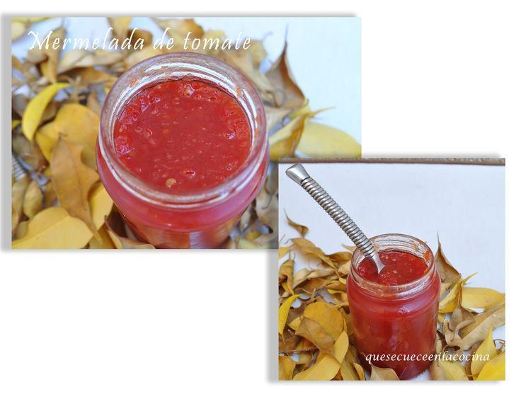 Cocina con gusto: Mermelada de tomate
