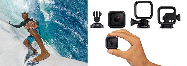 GoPro Hero4 Session: Itsy-bitsy #Camera with Gigantic Functionality [Video]