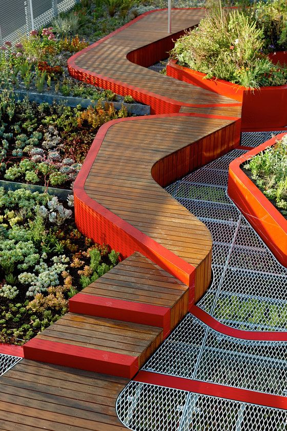 ♀ Eco design green architecture sustainable style living Burnley Living Roofs by HASSELL