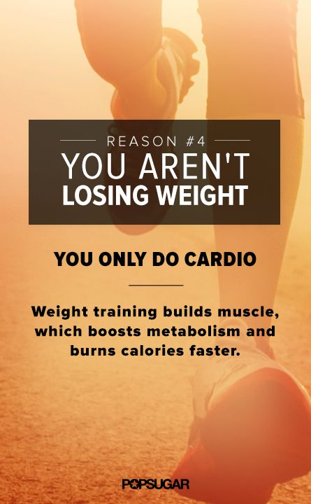 The Mistake That's Costing You Pounds-Make sure you do resistance training and cardio. Kettlebell workouts do both. www.Mydietfreelife.com